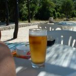 Beer in the shade... mmmm