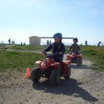 kids play on Znjan in Split