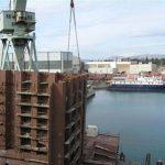 Split shipyard