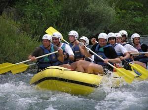 Rafting Cetina omis