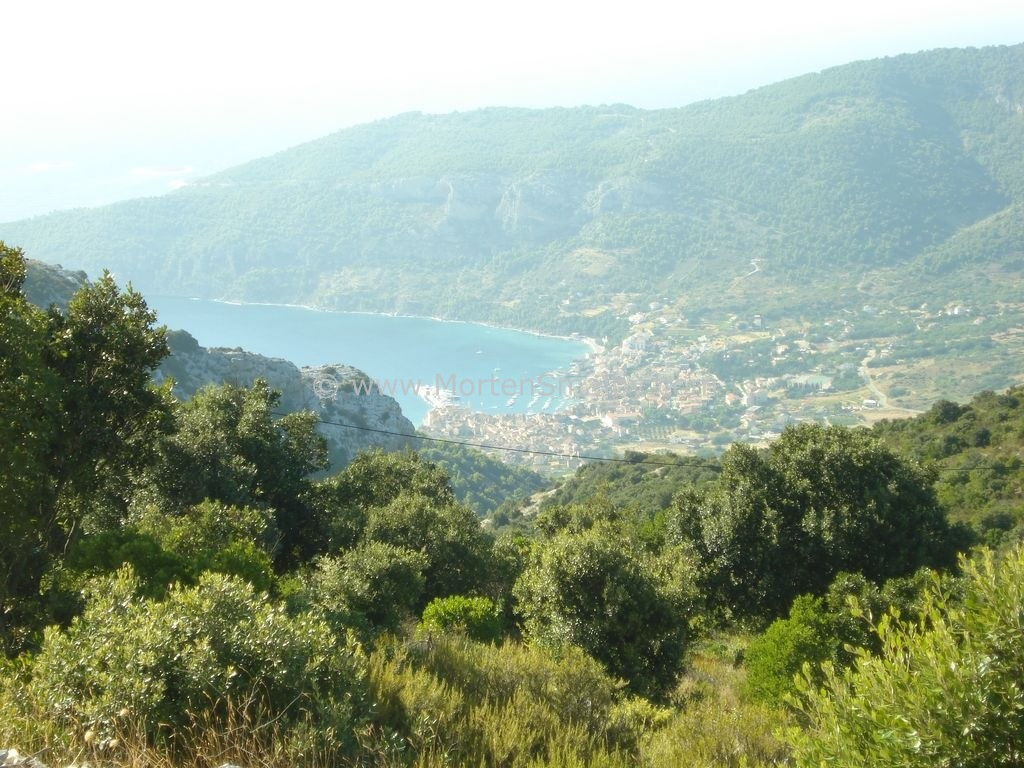 View on Komiza Island Vis