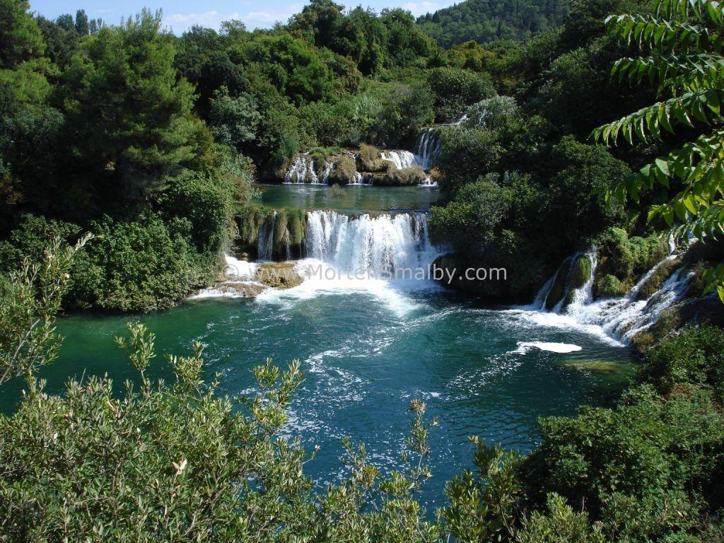 National park Krka Beatiful Waterfalls