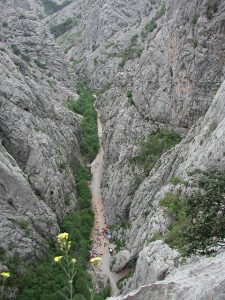 Paklenica Canyon