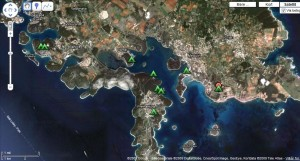 Map Camping Istria
