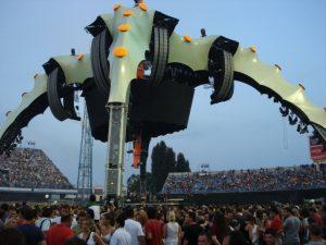 U2 Zagreb tour 2009 Stage