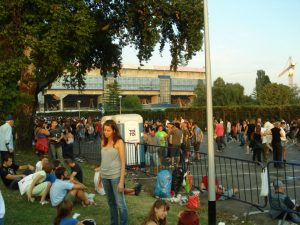U2 Zagreb tour 2009 in front of Maximir