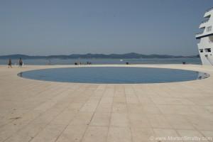 Zadar greeting to the sun