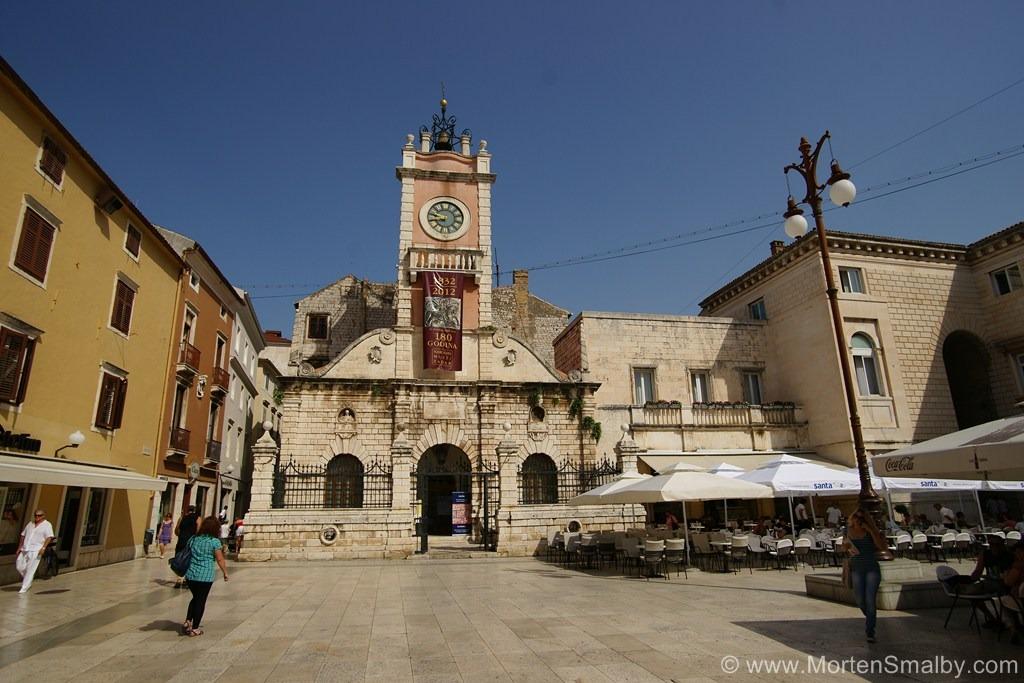 Zadar main Square