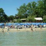 Sandbeach in Split Croatia