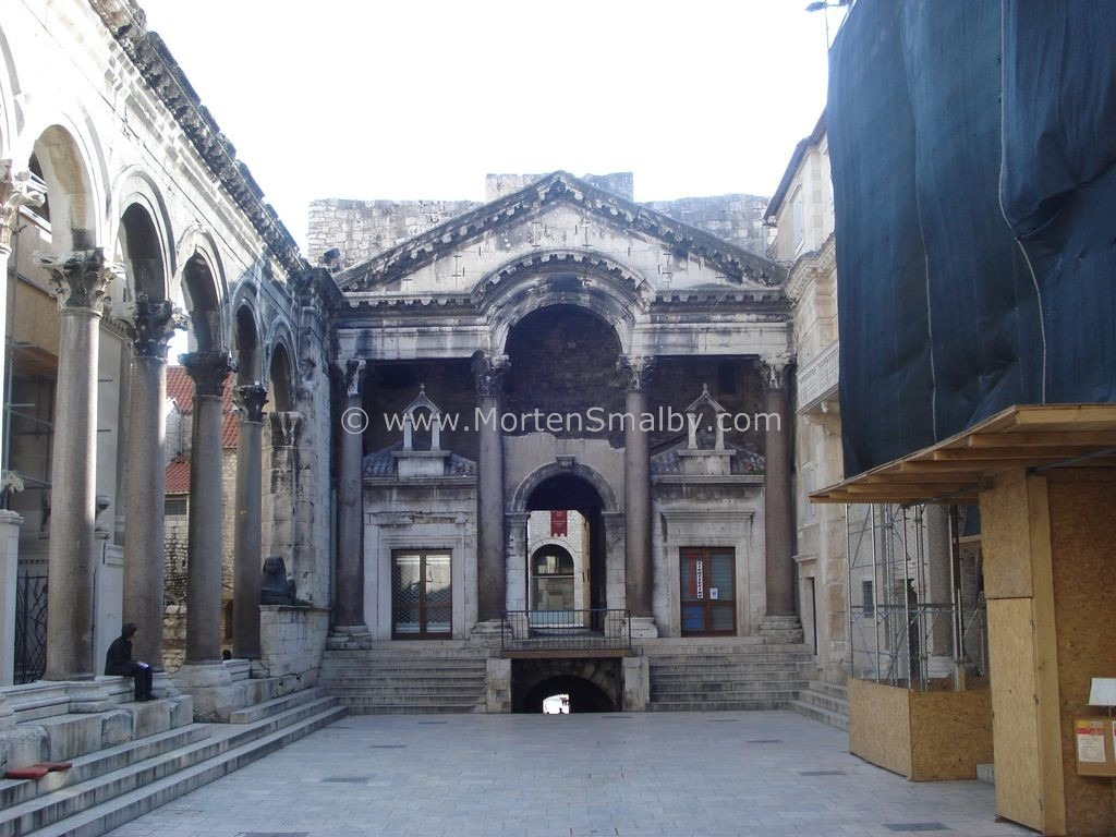 Peristil Split Croatia