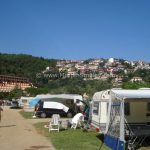 Rabac city seen from Camp Oliva