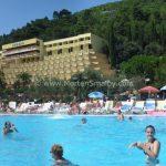 Rabac pool at the 3 hotels