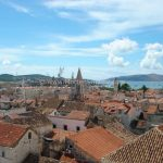 Trogir view from Cathedral