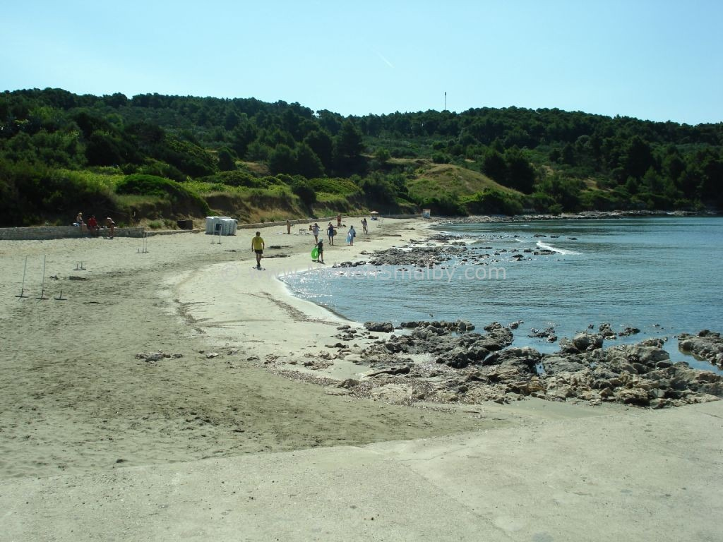 Korcula Beach in Lumbarda