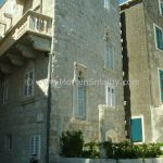 Korcula beatiful stone house