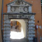 Labin City gate