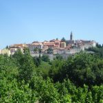 Labin hill top town