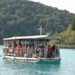 Plitvice lake boat