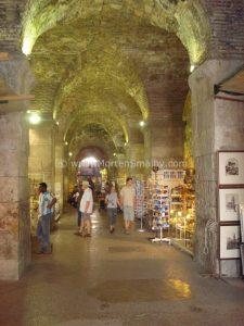 Split Diocletian palace Basements