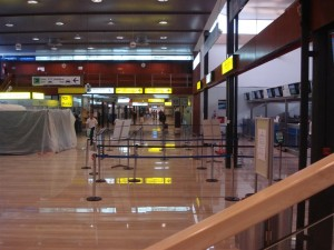 Zagreb Airport inside terminal