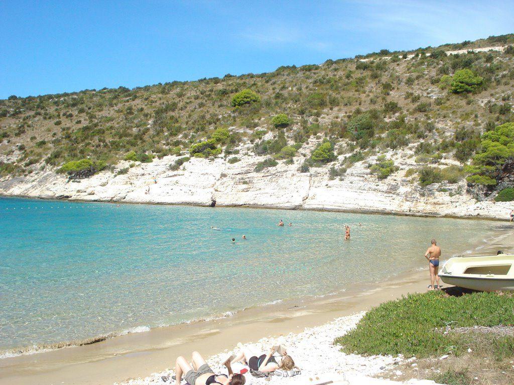 Island Bisevo beach