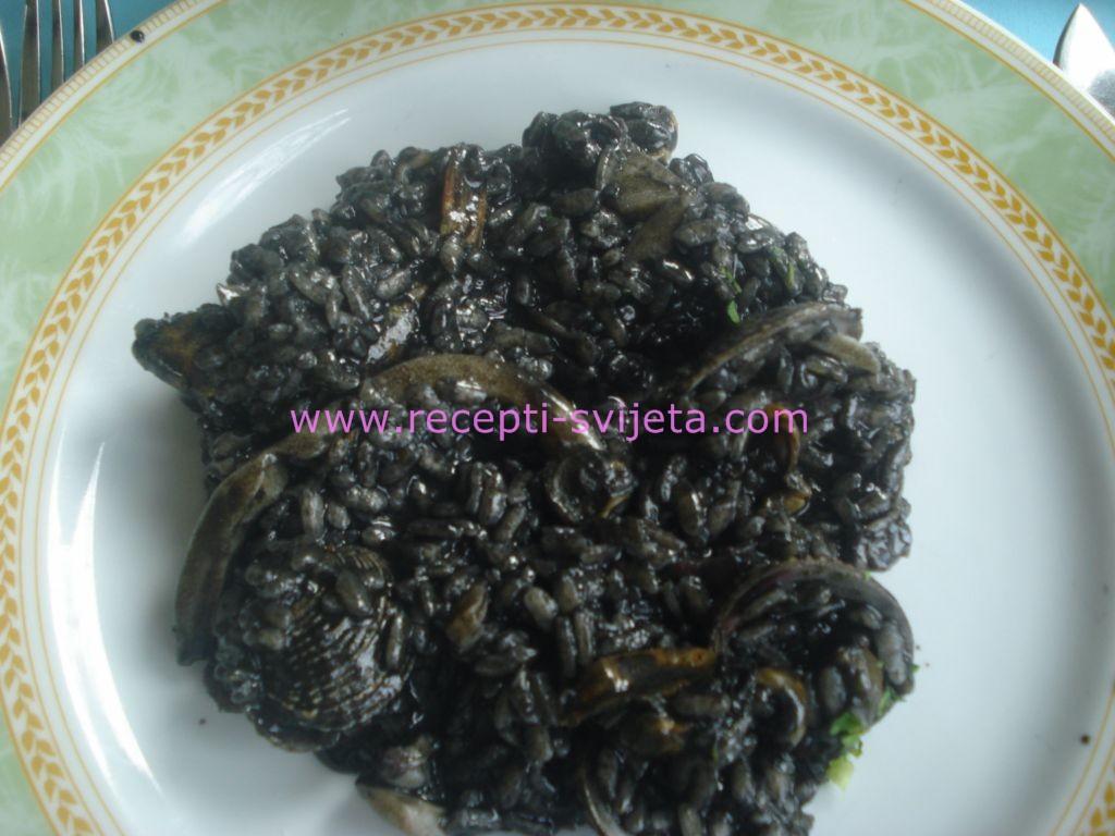 Black Risotte