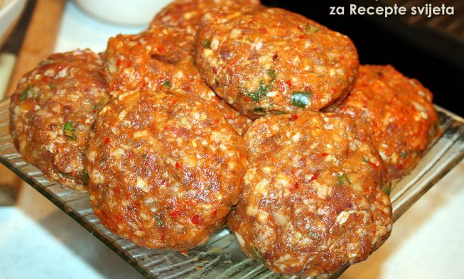 Chutney burger croatian recipe and photos forumfinder Image collections