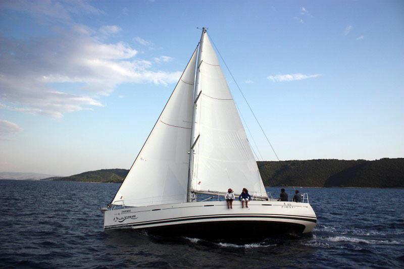 Sailing boat Croatia