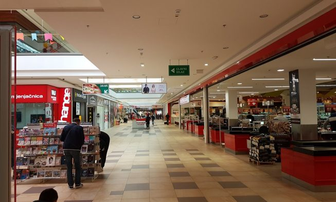 1789598042 Shopping in Split, supermarkets, malls, green and fish market