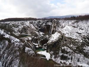 Plitvice Waterfalls Winter