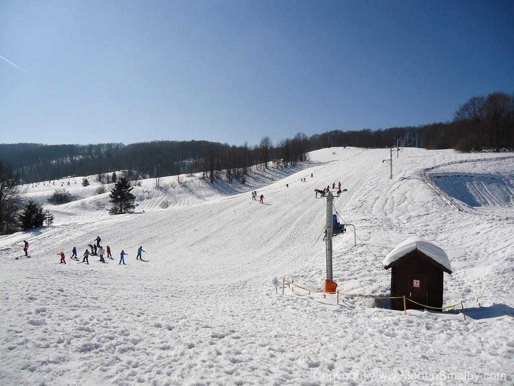 Skiing Mukinje