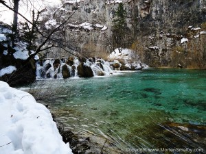 Water color Plitvice