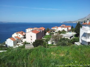 Apartments on hill in Nemira