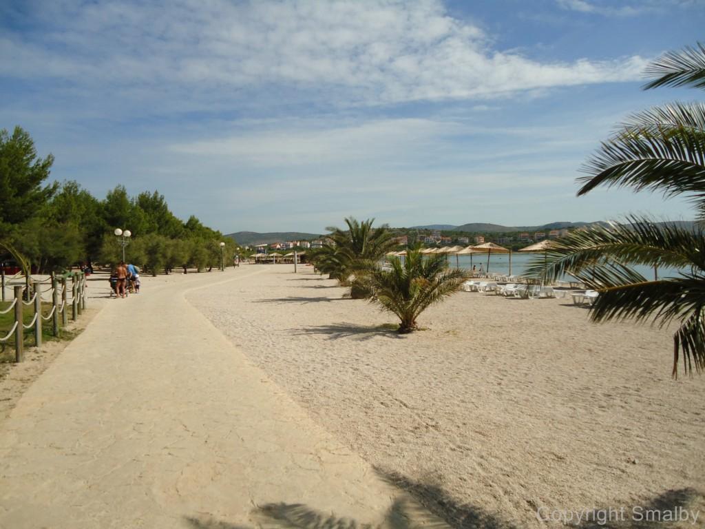 Beach Sibenik The Most Popular Beaces In Sibenik