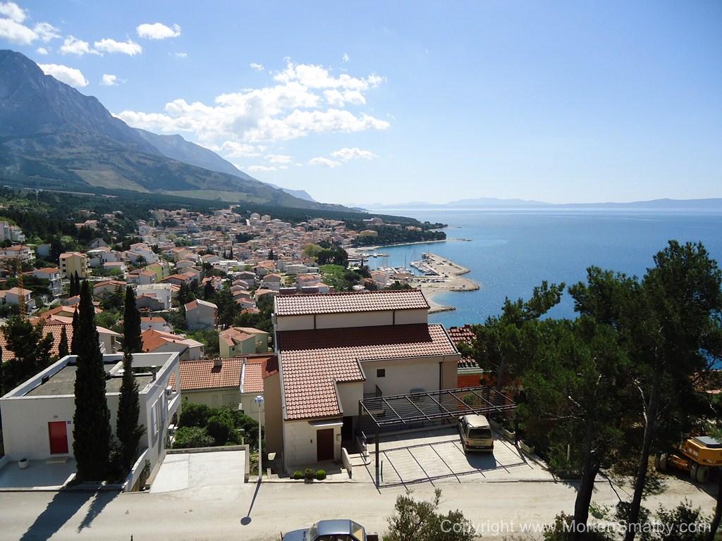 View on Baska Voda