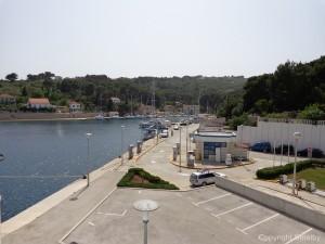 Ferry terminal Rogac