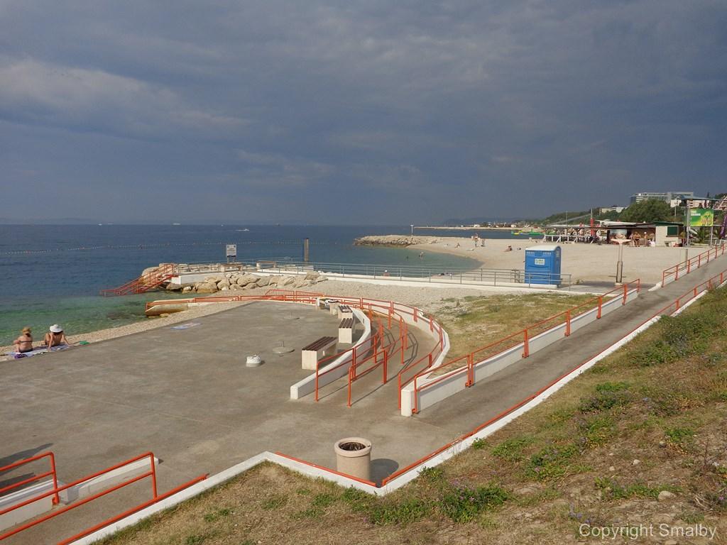 Handicap beach Split
