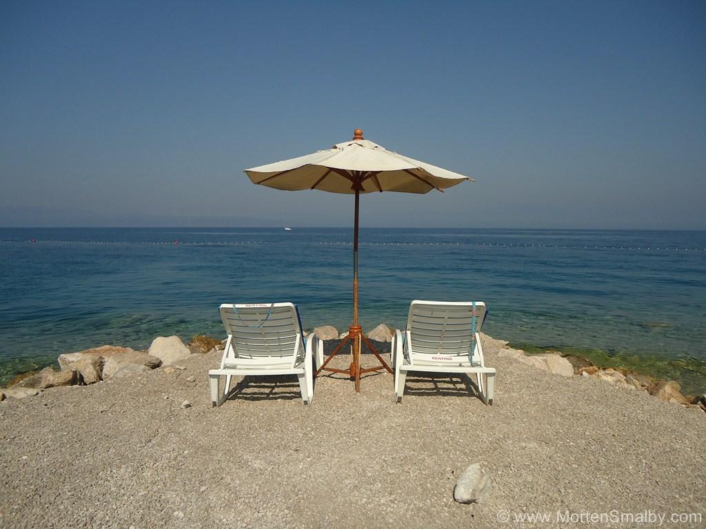 Njivice beach