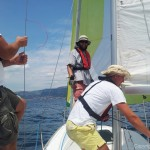 Sailng with Spinnaker