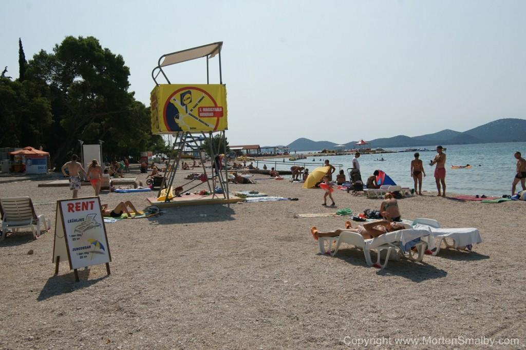 Beach Biograd