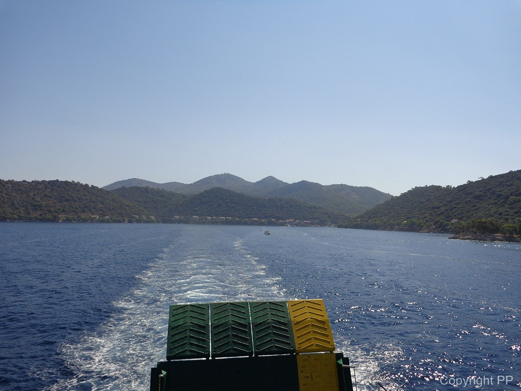 Leaving Lastovo