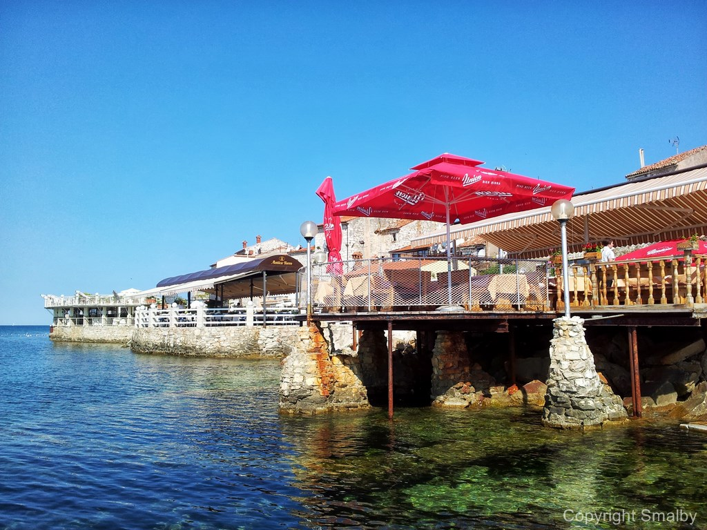 Umag Seaside promenade