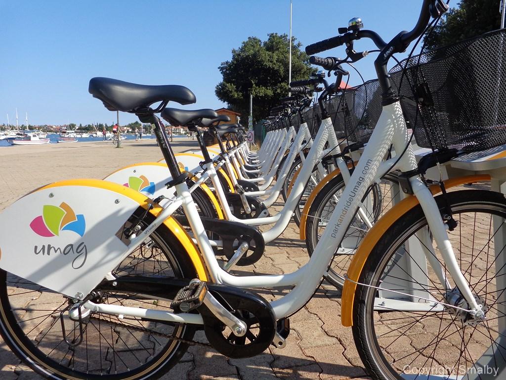 Umag public bikes