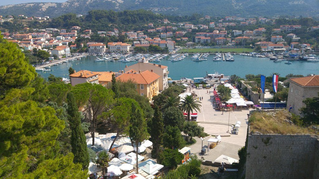 View on Marina in Rab