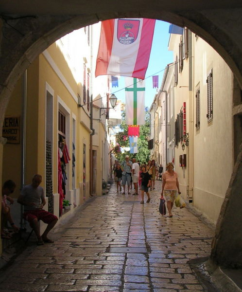 Rab old town