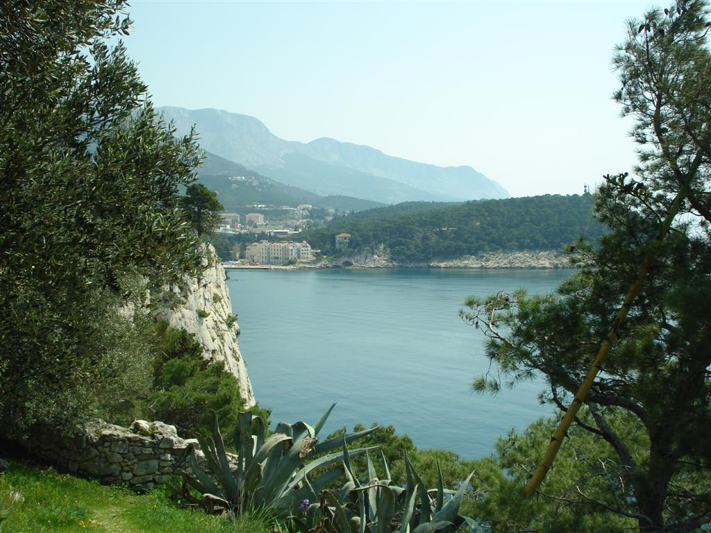 View from peninsula St Petar