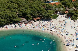 airphoto makarska beach