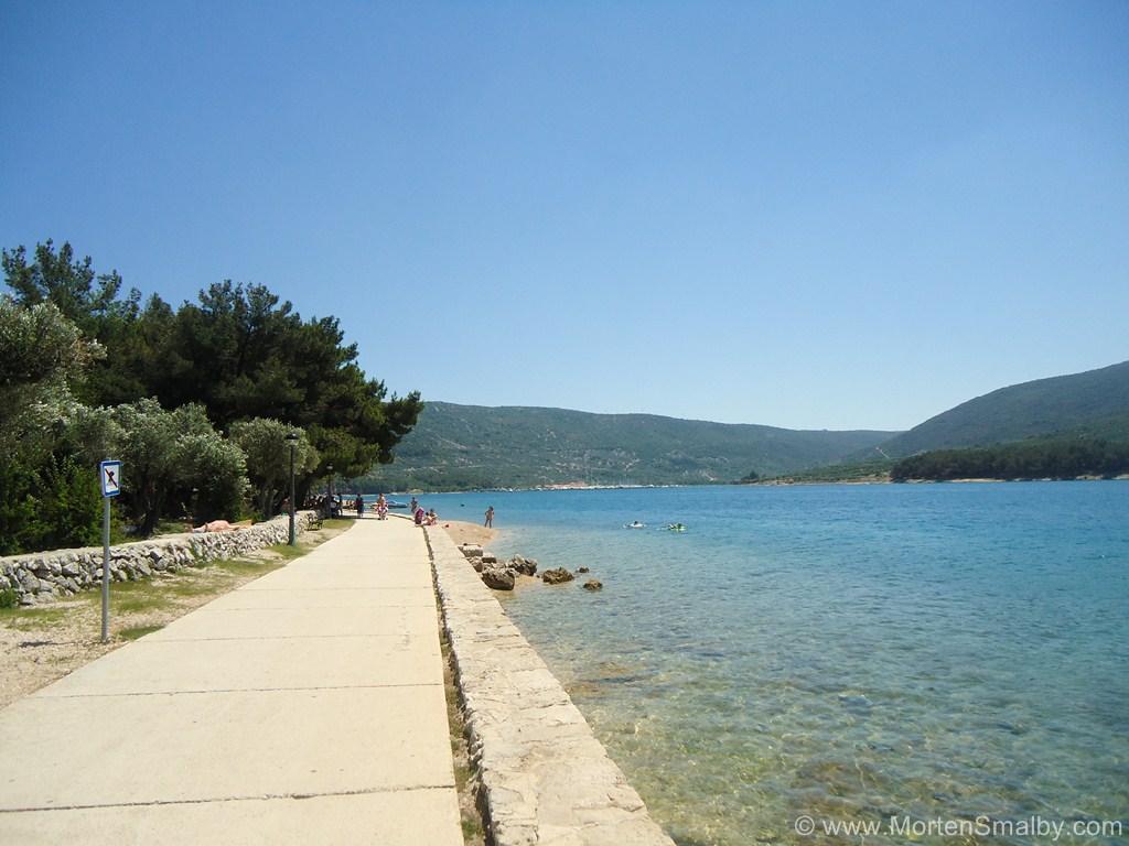 Cres-beach
