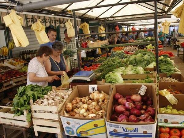 green market makarska