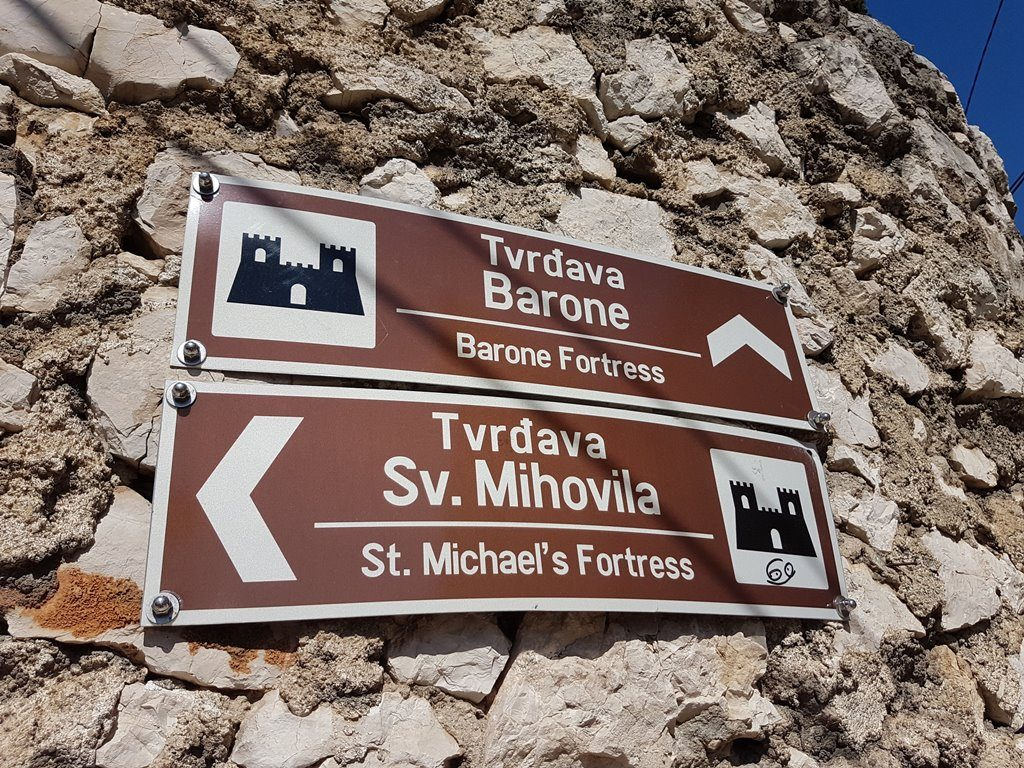 Fortress signs sibenik